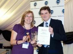 Dee Clayton wins Business Person of the Year Award for East of England!