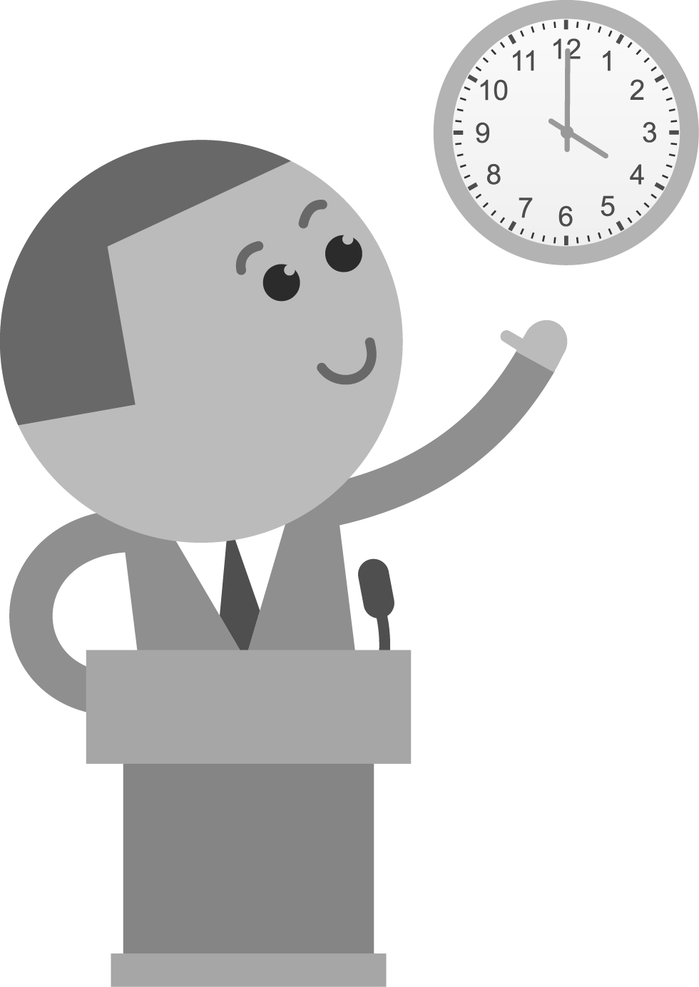 Time Keeping Illustration