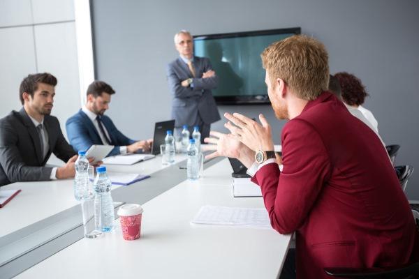 addressing board of directors