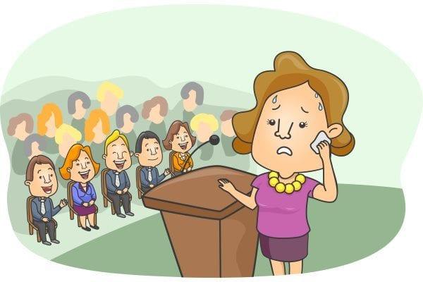 microphone public speaking fear