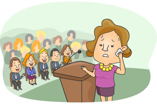 microphone public speaking fear