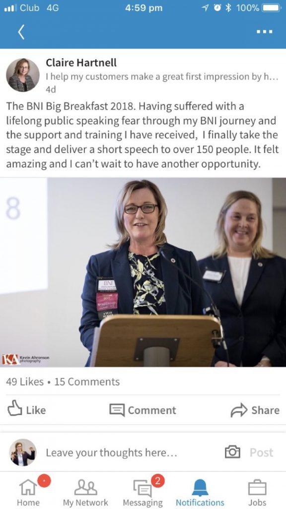 public speaking help