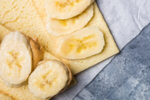 Banana on gluten free toast