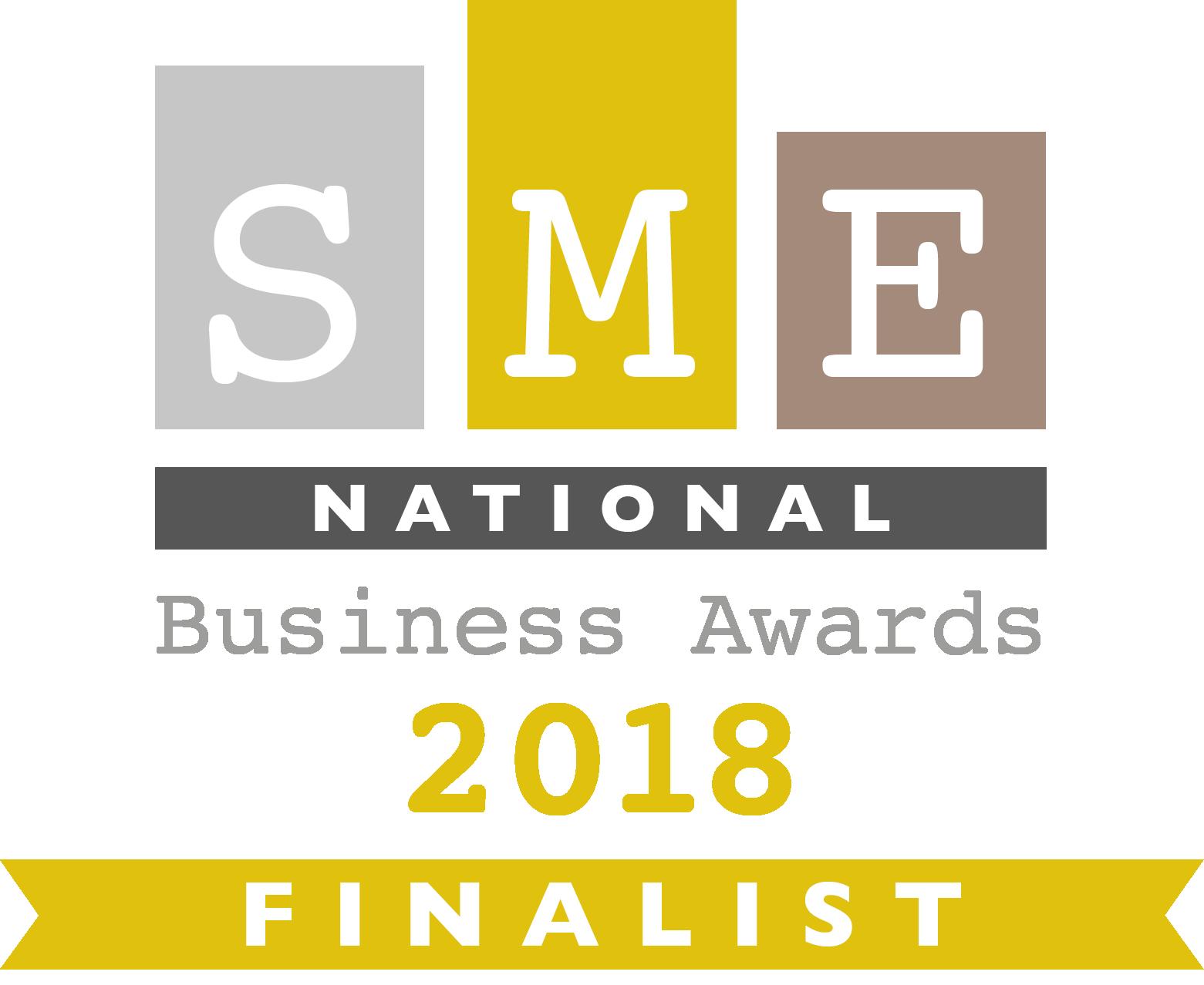 SME triple finalist!