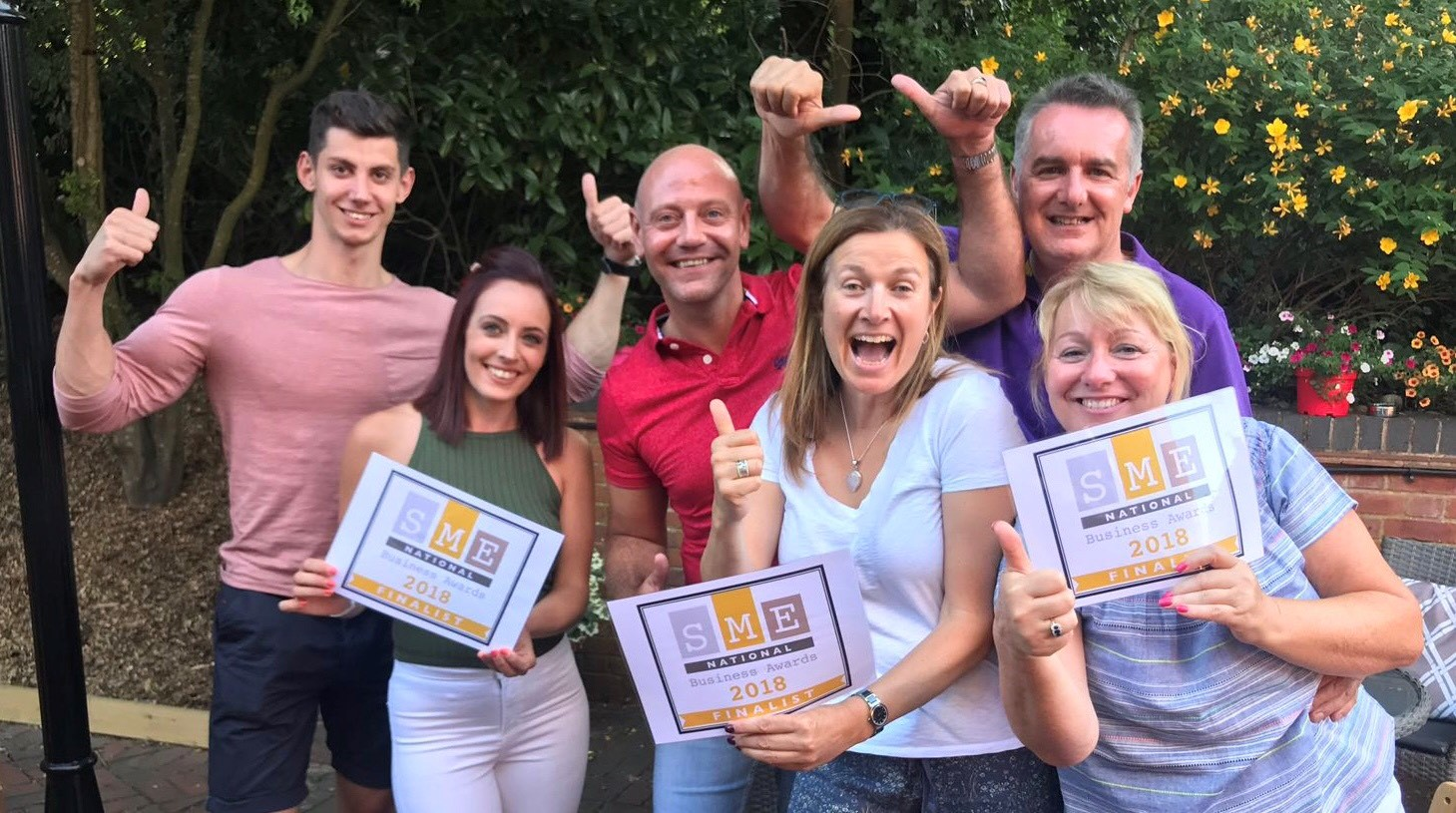 Simply Amazing Training Score a Hat Trick at SME National Business Awards 2018