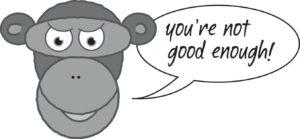 Image of Public Speaking Monkey