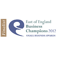 "Finalist ""Enterprising Business"" 2012 – East of England Business Champions Award"
