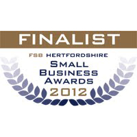 "Finalist ""Real Life Entrepreneur"" June 2012- Hertfordshire FSB Awards"
