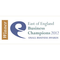 "Winner ""Business Person Of The Year"" Nov 2012 – East of England Business Champions Award"