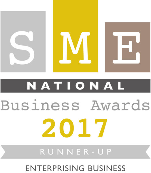 "National Runner-up ""Enterprising Business"" Sep 2017 – SME National Business Awards"
