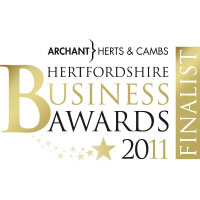 "Finalist ""Creative Innovation"" Nov 2011 Hertfordshire Business Awards"